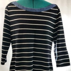 Tommy Hilfiger | Black & White | Stripe Dress